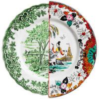 Hybrid Ipazia Dinner Plate - Ø 27,5 cm Multicolored Seletti CTRLZAK