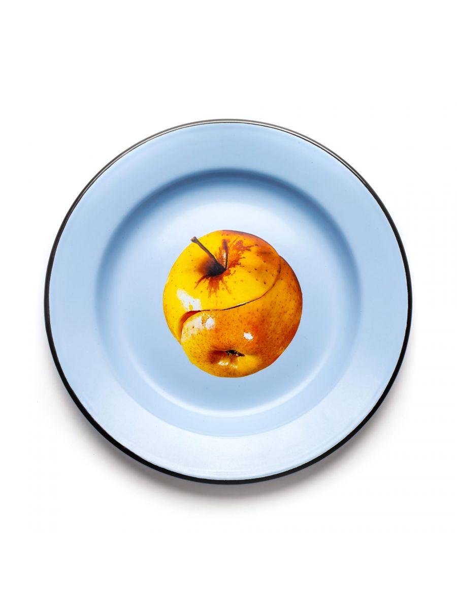 トイレットペーパープレート - 色とりどりのリンゴSeletti Maurizio Cattelan | Pierpaolo Ferrari