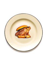 Toiletpaper Plate - Seletti Burger Multicolored Maurizio Cattelan | Pierpaolo Ferrari