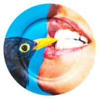 Twalèt plat - Multicolored Crow Seletti Maurizio Cattelan | Pierpaolo Ferrari