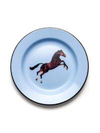 トイレットペーパープレート -  Seletti色とりどりの馬Maurizio Cattelan | Pierpaolo Ferrari