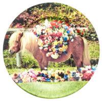 Plato de papel higiénico - Seletti Pony Multicolor Maurizio Cattelan | Pierpaolo Ferrari