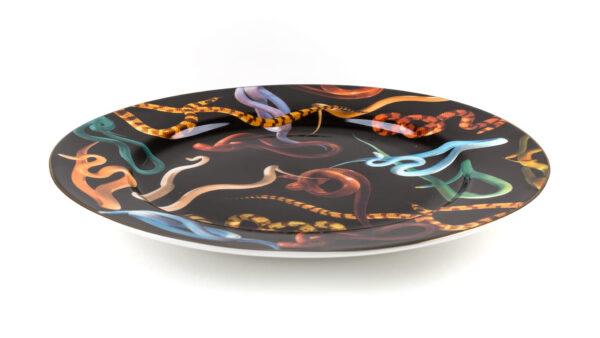 Toiletpaper Plate - Seletti Multicolored Snakes Maurizio Cattelan | Pierpaolo Ferrari