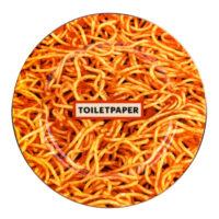 Assiette en papier hygiénique - Spaghetti multicolores Seletti Maurizio Cattelan | Pierpaolo Ferrari