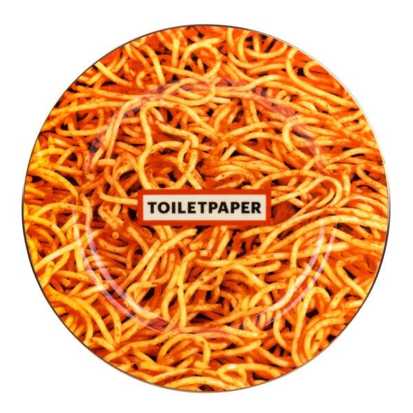 Toilettenteller - Seletti Mehrfarbige Spaghetti Maurizio Cattelan | Pierpaolo Ferrari