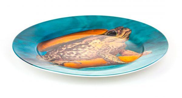 Piatto Toiletpaper - Toad Multicolore Seletti Maurizio Cattelan|Pierpaolo Ferrari