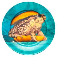 Plato de papel higiénico - Seletti Multicolor Toad Maurizio Cattelan | Pierpaolo Ferrari