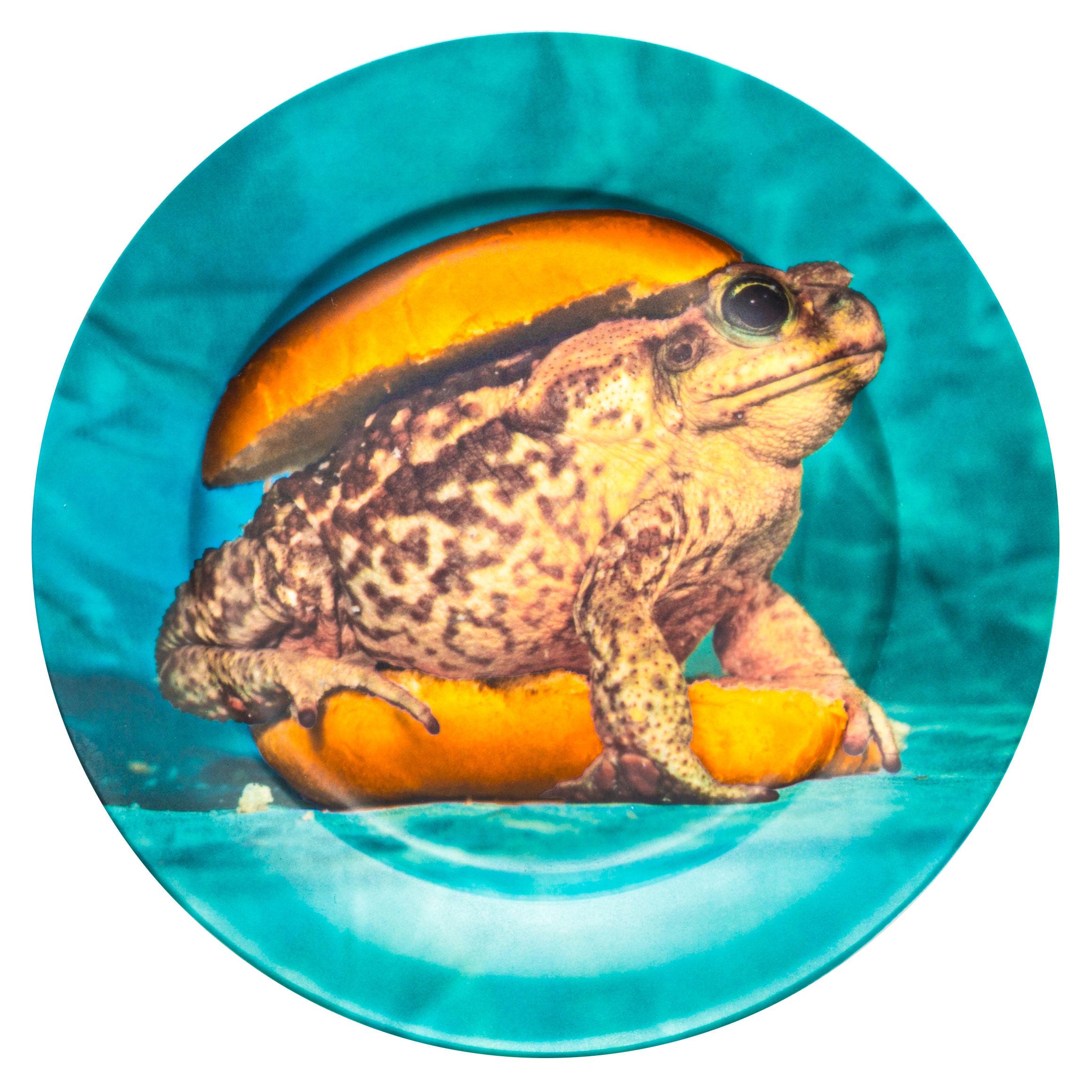 Toiletpaper Plate - Seletti Multicolored Toad Maurizio Cattelan | Pierpaolo Ferrari