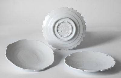Dessertteller-Maschine-Sammlung / 20 cm Ø - September 3 White Diesel leben mit Seletti Diesel Creative Team 1