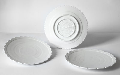 Dinner plate Machine Collection / 27,2 cm Ø - September 3 White Diesel living with Seletti Diesel Creative Team 1