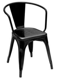 A56 Μαύρο Πολυθρόνα Tolix Xavier Pauchard 1