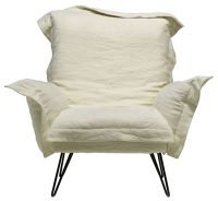 Armchair Cloudscape White Diesel with Moroso Diesel Creative Team 1