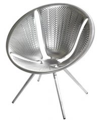 Diatom Aluminium chair Moroso Ross Lovegrove 1