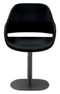 椅子エヴァの足中央黒のZanottaオラ伊藤1