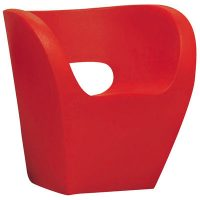 Red Armchair Pouco Albert Moroso Ron Arad 1
