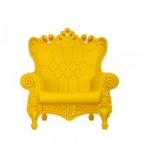 Little Queen Of Love Fauteuil jaune Slide Moropigatti 1
