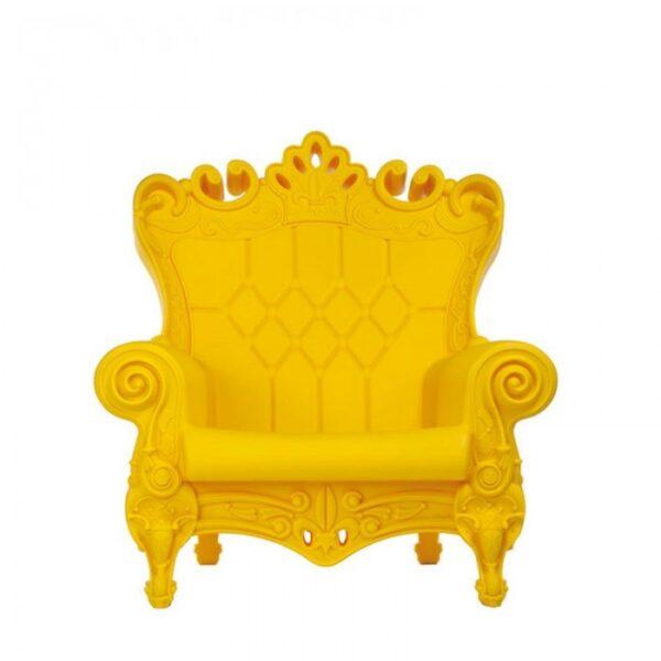 Kleine Königin der Liebe Gelber Sessel Slide Moropigatti 1