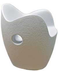 Fauteuil O-White Nest Moroso Tord Boontje 1