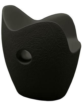 Armchair O-Nest Black Moroso Tord Boontje 1