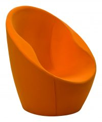 Orange Ouch Armchair Casamania Karim Rashid