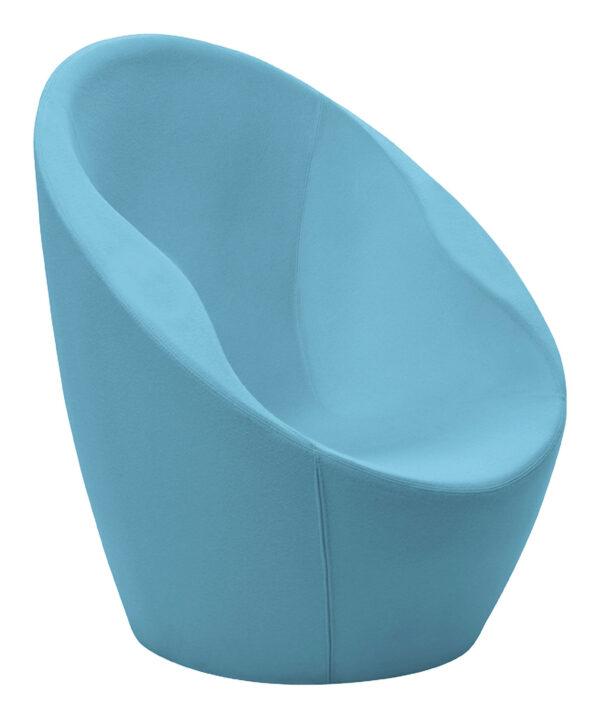 Blue Ouch armchair Casamania Karim Rashid