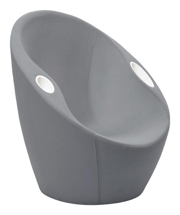 Ouch πολυθρόνα με αγκώνα στηρίζεται Grey Casamania Karim Rashid