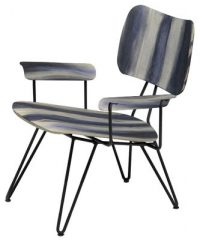 Grey washed with Diesel Overdyed chair Moroso Diesel Creative Team 1