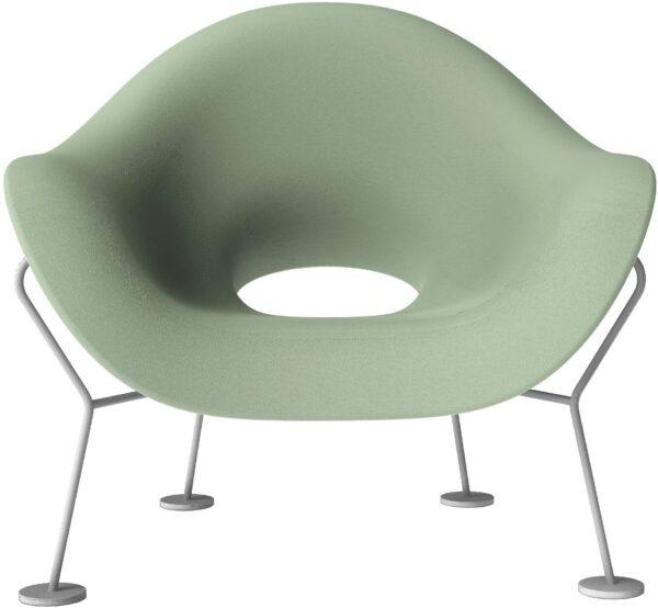 Pupa Armchair Balsamo Green |クロームメッキQeebooAndrea Branzi 1