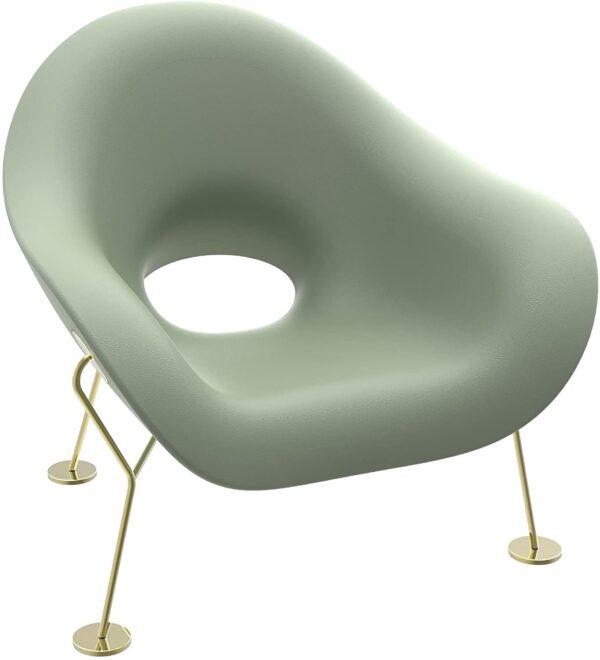 Pupa Balsam Green Armchair | Qeeboo Messing Andrea Branzi 2