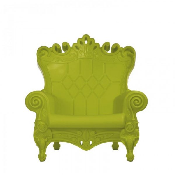 Sillón Queen Of Love Verde Slide Moropigatti 1