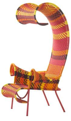 Σκιερά καρέκλα Κίτρινο | Κόκκινο | Πορτοκάλι | Μπράουν Moroso Tord Boontje 1