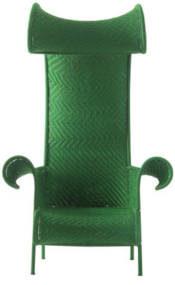 Poltrona Shadowy Verde Moroso Tord Boontje 1