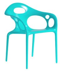 Supernatural chair Moroso Ross Lovegrove Turquoise 1