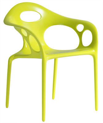 chaise Supernatural Moroso Ross Lovegrove Vert 1