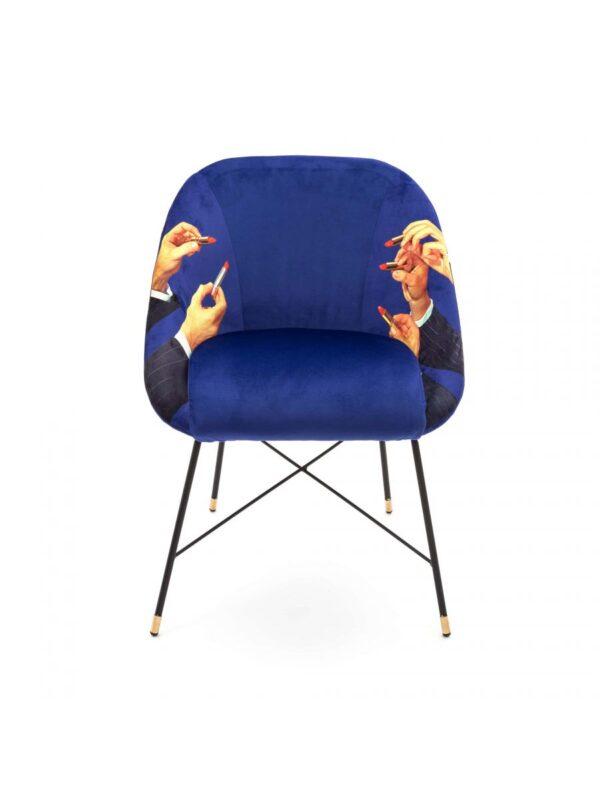 Fotèy twalèt - lèvr - L 60 cm multicolor | Seletti Blue Maurizio Cattelan | Pierpaolo Ferrari