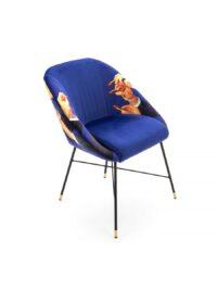 Toiletpaper Armchair - Lipsticks - L 60 cm Multicolored | Seletti Blue Maurizio Cattelan | Pierpaolo Ferrari
