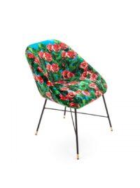 Toiletpaper armchair - Rose - L 60 cm Multicolor Seletti Maurizio Cattelan turquoise | Pierpaolo Ferrari