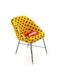 Toiletpaper Armchair - Shit - L 60 cm Multicolor | Seletti Yellow Maurizio Cattelan | Pierpaolo Ferrari