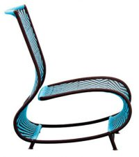 Poltrona Toogou Azul | Brown Moroso Ayse Birsel | Bibi Seck 1