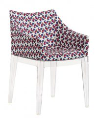 Madame La Double J upholstered armchair - Transparent | Galletti Kartell Philippe Starck 1