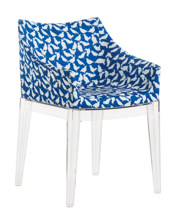 Poltrona estofada Madame La Double J - Transparente | Uccelini Kartell Philippe Starck 1