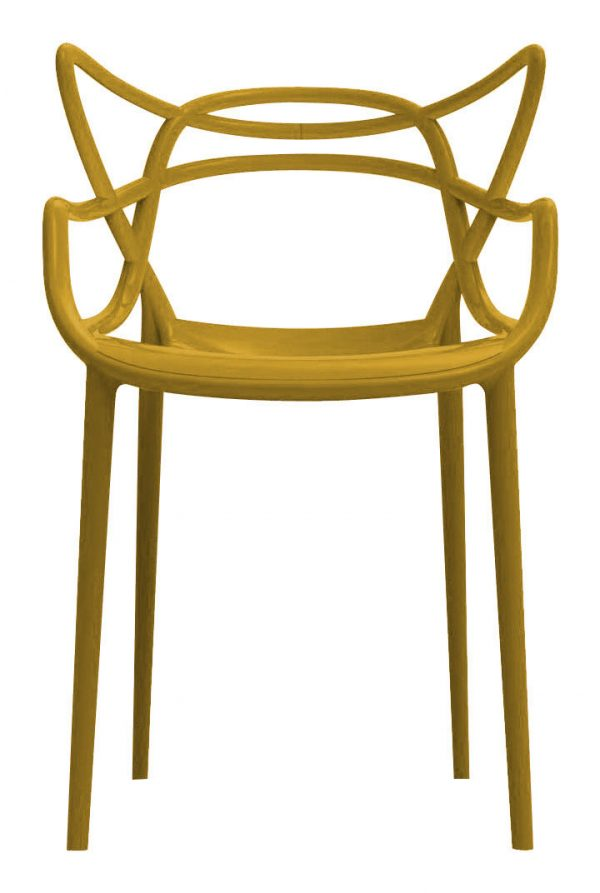 Masters Mostarda Kartell Philippe Starck stackable armchair | Eugeni Quitllet 1