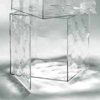Optic glove - With door Kartell Patrick Jouin Transparent 1