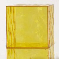 Almacenamiento óptico - Sin puerta Kartell amarillo Patrick Jouin 1