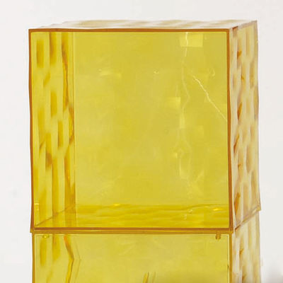 Optic Storage - Without door Yellow Kartell Patrick Jouin 1