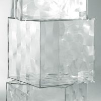 Optic compartment - without door Transparent Kartell Patrick Jouin 1