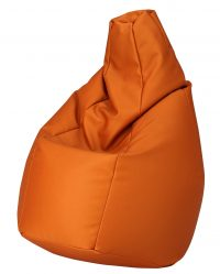 Pouf Outdoor Sack Orange Zanotta Cesare Paolini | Franco Teodoro | Piero Gatti 1
