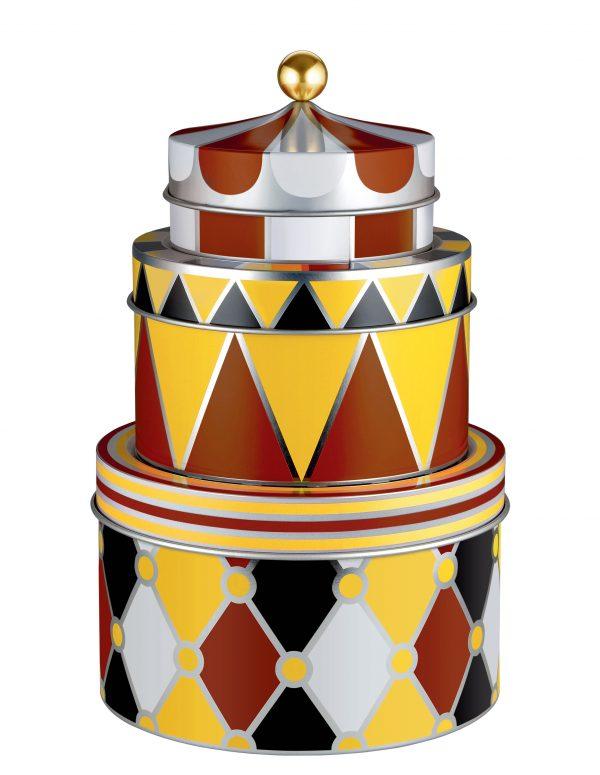 Circus Box - Σετ 3 πολύχρωμων ALESSI Marcel Wanders 1