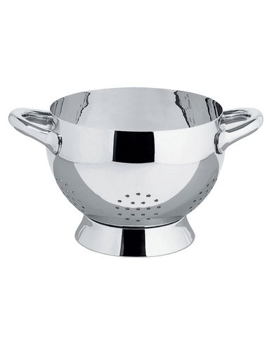 Polished stainless steel colander Mami Alessi Stefano Giovannoni 1