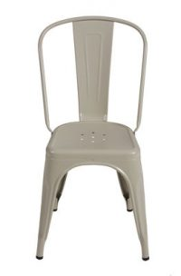 Dark Gray Tolix Chair Xavier Pauchard 1